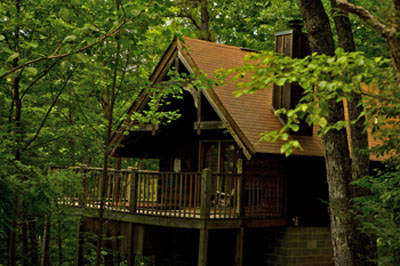 A cabin in the woods for Cabins near gatlinburg tn